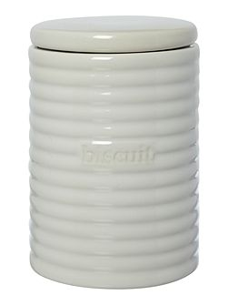 Ripple biscuit jar