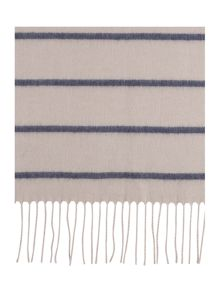 Linea Simple Stripe Wide Scarf