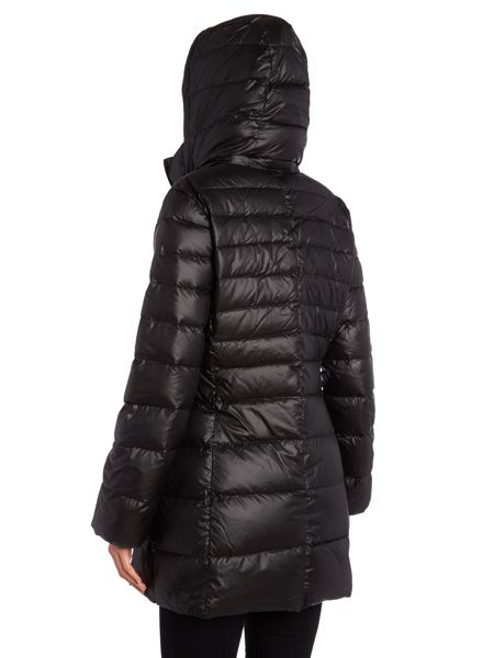 Andrew Marc Padded style coat with hood