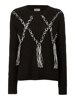 Tassle detail jumper