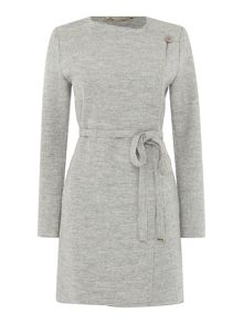 Sosta lightweight belted wool coat