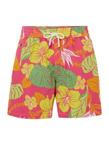 Floral Print Swimming Shorts
