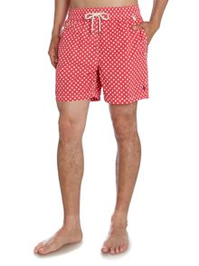 Spot Print Swimming Shorts