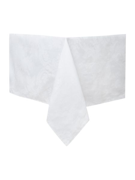 Linea White cambridge table cloth 240x280