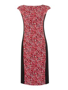 Max Mara Fionda body con print dress