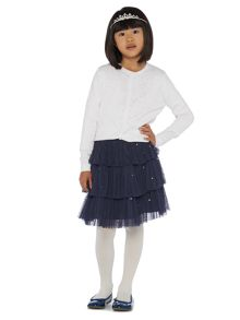 Girls Evie Diamonte cardigan