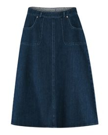 East Denim Skirt