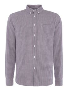 Ariel Micro Check Long Sleeved Shirt