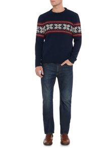Halifax Fairisle Crew Neck Christmas Jumper