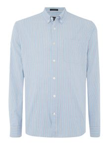 Howick Gabarus Striped Long Sleeve Shirt