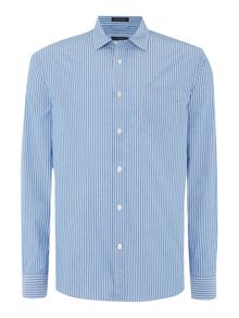 Howick Delemar Striped Long Sleeve Shirt