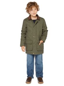 Howick Junior Boys Walker waxed jacket