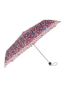 Reversed Floral Superslim Umbrella