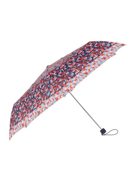 Fulton Reversed Floral Superslim Umbrella
