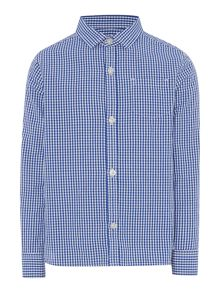 Howick Junior Boys Harry gingham check shirt