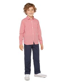 Boys Harry gingham check shirt