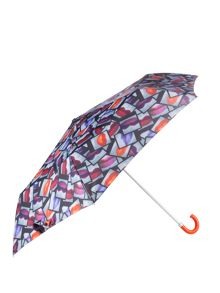 Lulu Guinness Lips Polaroid Superslim Umbrella