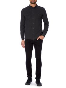 Label Lab Wolfe Textured Slim Fit Shirt