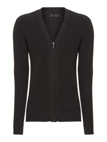 Label Lab Flight Ribbed Zip Cardigan