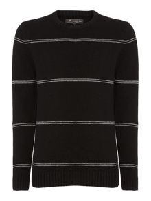Label Lab Varenne Stripe Crew Neck Knit