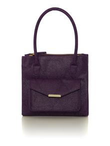 Karlie triple compartment handbag