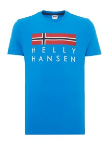 Helly Hansen Graphic Crew Neck Regular Fit T-Shirt