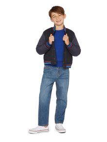 Howick Junior Boys Comic baseball jacket