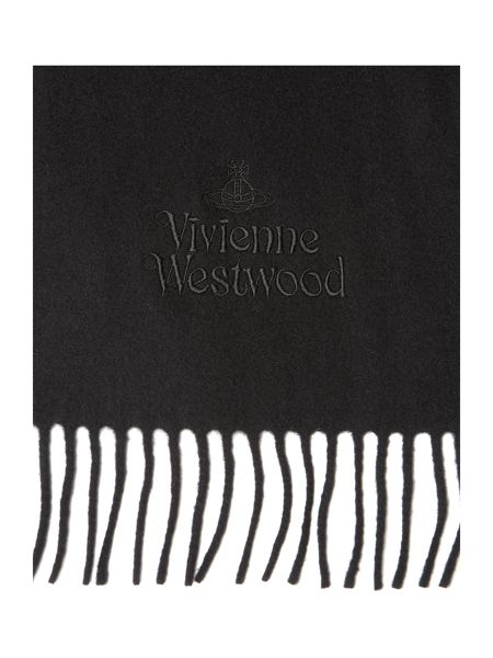 Vivienne Westwood Embroided Logo Scarf