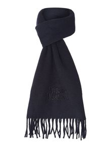 Embroided Logo Scarf