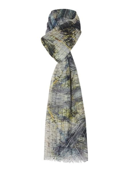 Label Lab Abstract Math Scarf