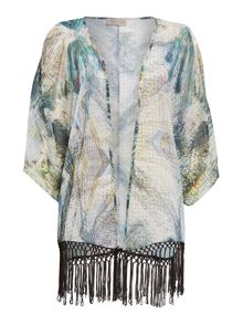 Label Lab Abstract Math Kimono