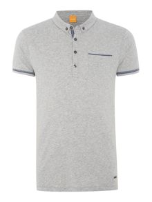 Pioli Regular Fit Tape Detail Polo Shirt