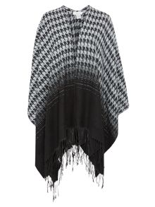 Houndstooth Ombre Wrap