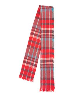 Checked Midweight Scarf