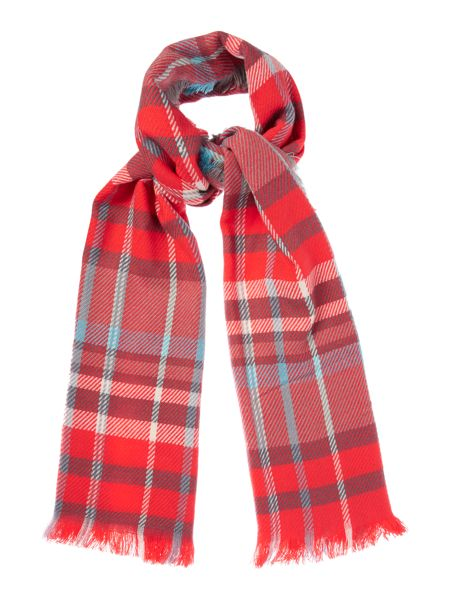 Linea Checked Midweight Scarf