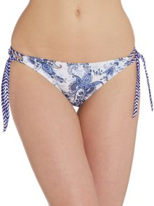 Linea Weekend Porcelain Print Bikini Brief