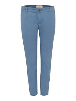 Savannah cropped chino trouser