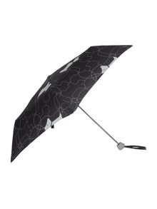 In Stiches Mini Telescopic Umbrella