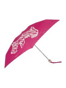 Scribble dog compact umbrella
