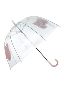 Scribble Dog Birdcage Umbrella