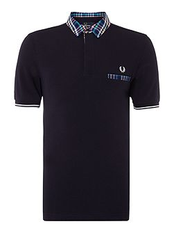 Men's Fred Perry Slim Fit Trim Tipped Polo