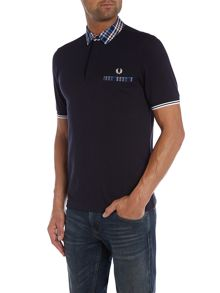 Slim Fit Trim Tipped Polo Shirt