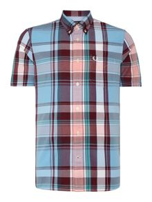 Fred Perry Classic Fit Short Sleeve Bold Check Shirt
