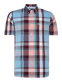 Classic Fit Short Sleeve Bold Check Shirt