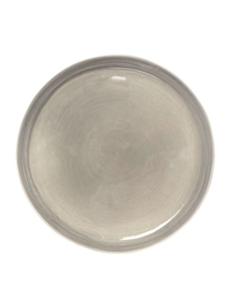 Gray & Willow Pebble dinner plate