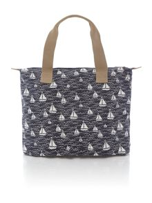 Boats shopper handbag