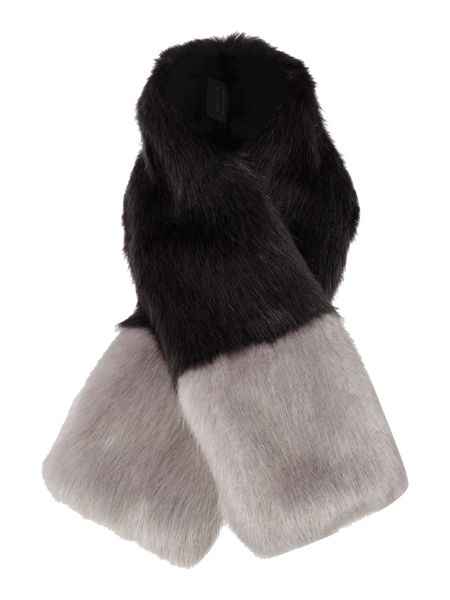 Helen Moore Exclusive tippet Faux Fur Scarf