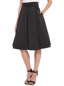 Eliza J High waisted pleated skirt