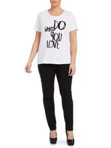 Skinny fit smart jegging trousers