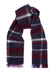 Dickins & Jones Brushed Check Scarf